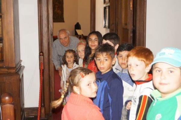 Elevii de la Şcoala Sînmiclăuș în vizită la Carei