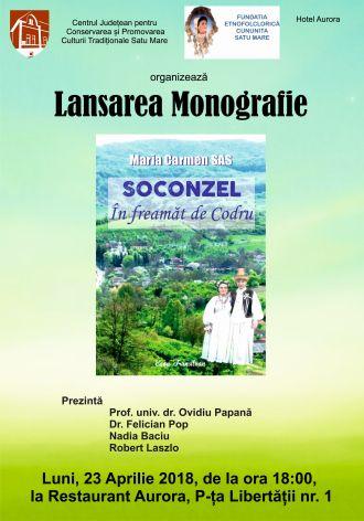 Lansare de carte. SOCONZEL – ÎN FREAMĂT DE CODRU