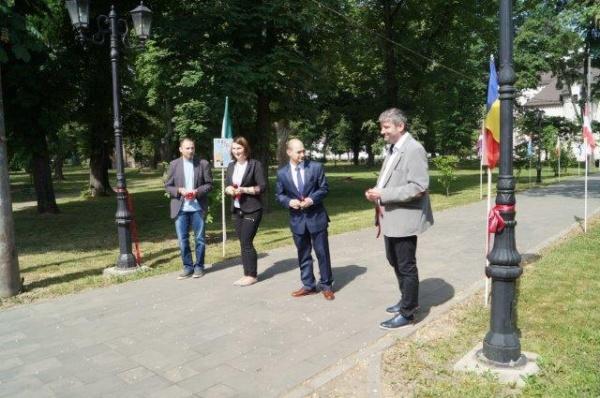 S-a inaugurat la Carei Aleea Inventatorilor din ţările UE
