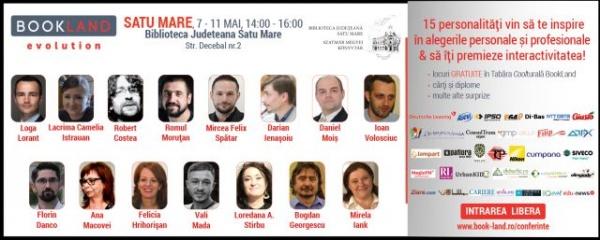 Un careian la Conferinţele BookLand din Satu Mare. Viitorul României stă în mâinile tinerilor de azi