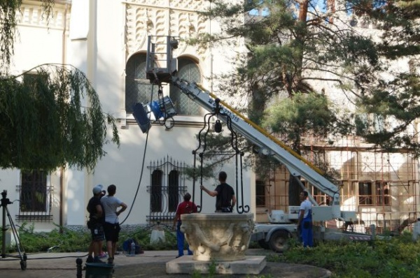 Filmările de la Carei întrerup orarul de vizitare de la etajul Castelului