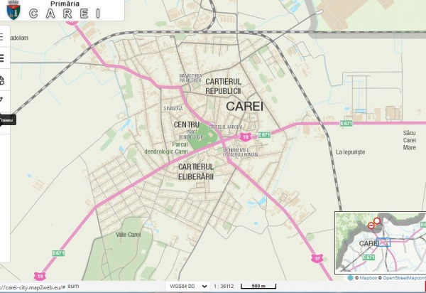 Numele Mihai Viteazu nu este agreat de Primăria Carei sau de ce nu apar pe Harta Carei cartierele cu acest nume?