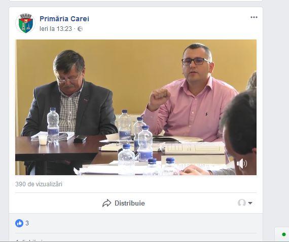 Preşedintele PSD Carei nu a votat pentru amplasare catarg românesc în Carei