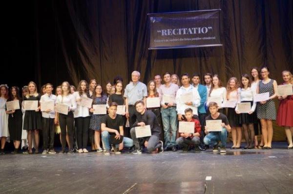 O nouă ediție a concursului RECITATIO. Mircea Dinescu președintele juriului