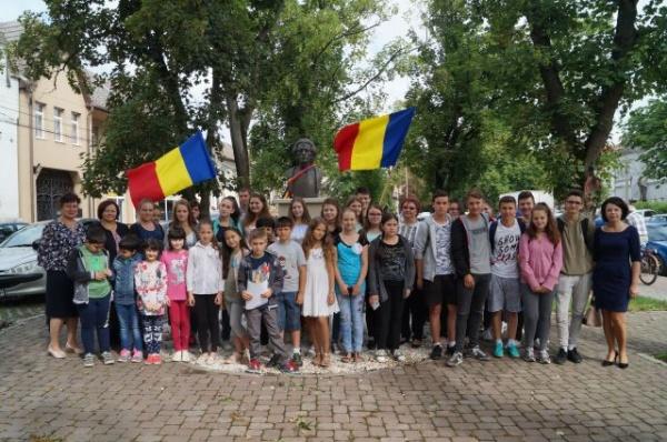 Comemorarea lui Mihai Eminescu la Carei