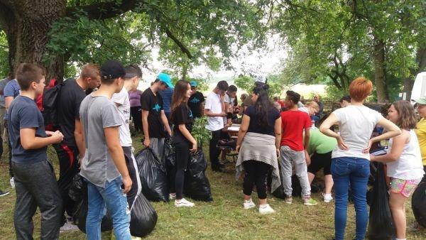Şcoli careiene au cules Iarba Pârloagelor la Urziceni. Ziua Mondială a Mediului