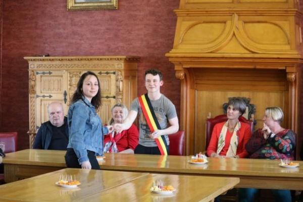 Elevi şi profesori careieni în Belgia