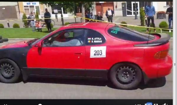 2 careieni printre câştigătorii etapei Rally Sprint de la Carei