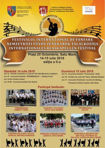 Festivalul internaţional al fanfarelor de la Satu Mare