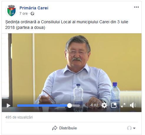 Încă cineva vrea catarg cu drapel românesc la Carei. Primarul ţine la secret informaţia. Degeaba