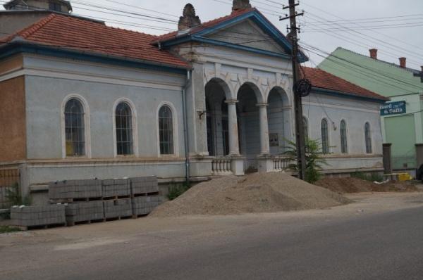 Baia Comunală Carei, o clădire abandonată