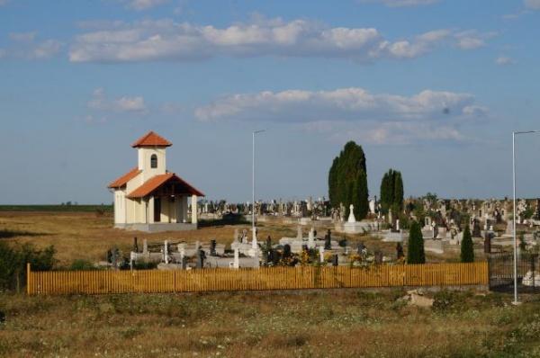 Invitaţie la sfinţirea Capelei Mortuare Ianculeşti. O construcţie ridicată cu 558 euro pentru 1 mp