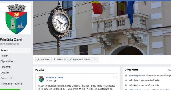 Stema României nu e pe placul Primăriei Carei