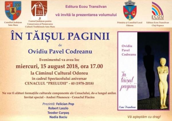 Andrei Păunescu în concert la Odoreu. Lansare de carte