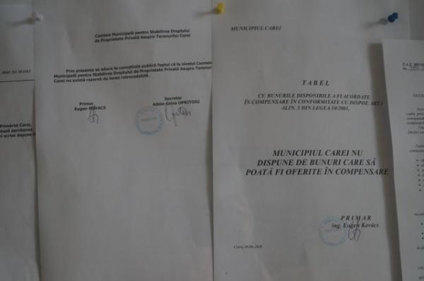 Primăria Carei nu utilizează Sigla Centenarului Marii Uniri pe documentele oficiale
