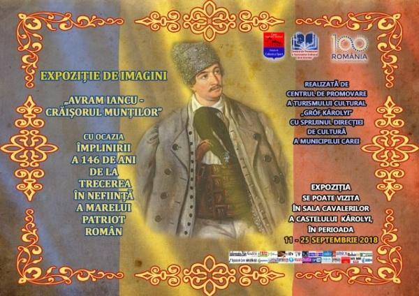 Expoziţie de imagini cu Avram Iancu la Castel