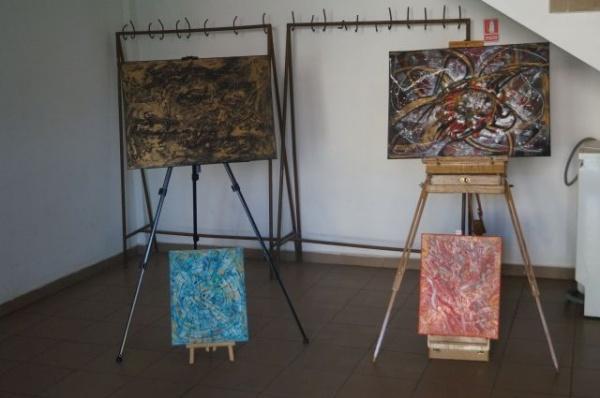 Miniexpoziţie de pictură la Memorialul Mircea Dohan