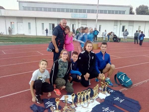 12 Locuri I pentru sportivii careieni la Cupa Aradului