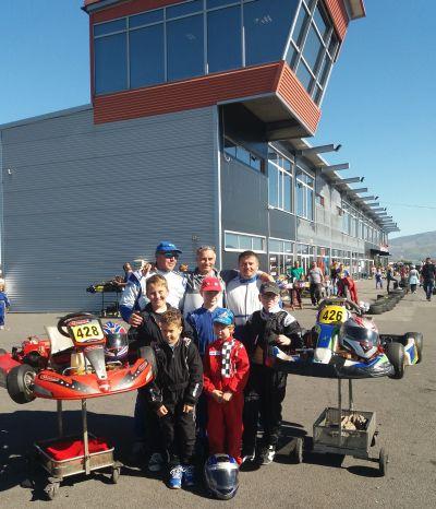 Karting. Rezultate frumoase pentru careieni pe pista de la Prejmer-Braşov