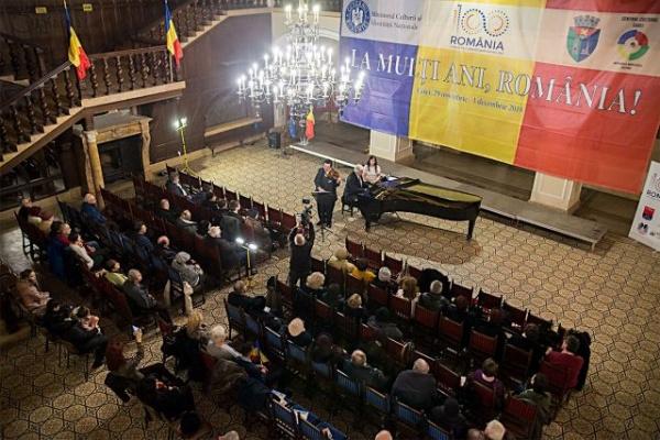 Concerte susținute de Trio Consonantia și Corul bărbătesc din Finteușu Mare