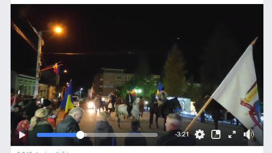 Delegaţia de călăreţi de la Asociația Ecvestră Perla Neagră a poposit la Cehu-Silvaniei