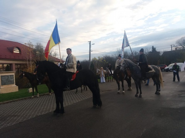 Au pornit! Delegaţie de  călăreţi de la Asociația Ecvestră Perla Neagră la Alba Iulia