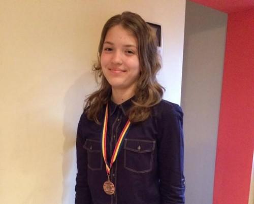 Sătmăreanca Ioana Roman a trecut de primul tur de selecţie pentru echipa României la Olimpiada de matematică