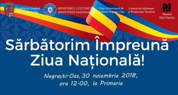 Paradă militară de Ziua Națională a României la Negrești-Oaș