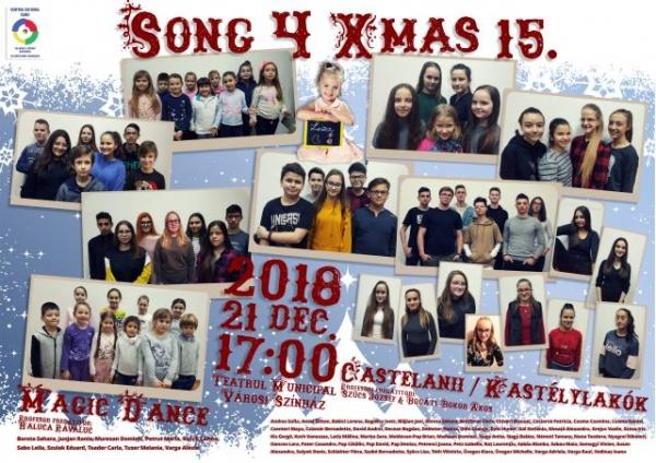 """""""Song 4 Xmas"""", ediția a XV-a. Cântec şi dans la Teatrul Municipal Carei"""