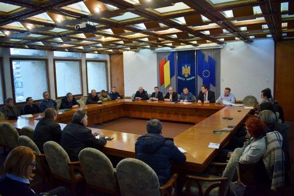 Prefectul a convocat şedinţa Centrului Local de Combatere a Bolilor Satu Mare