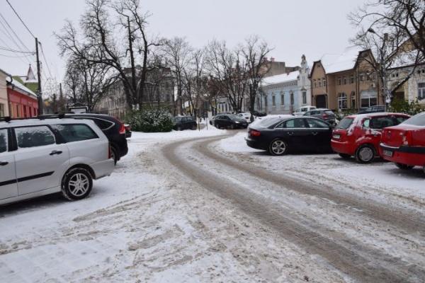 Mesaj pentru careienii care nu ies din oraș. Există și localități cu drumuri curățate iarna