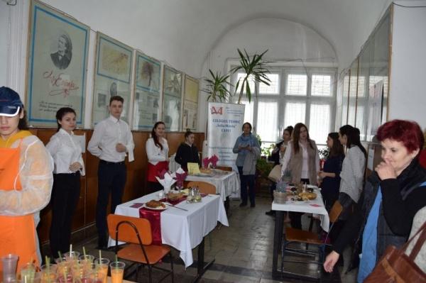 """""""Antreprenor în devenire"""", concurs județean la Liceul Tehnologic Iuliu Maniu Carei. Rezultate"""