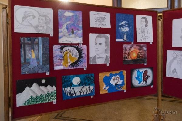 Concurs de grafică și desene la Carei