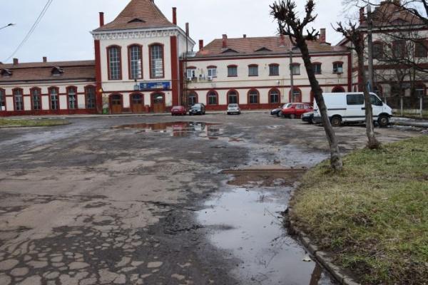 Strada Independenței din Carei – strada care duce la GARA CFR