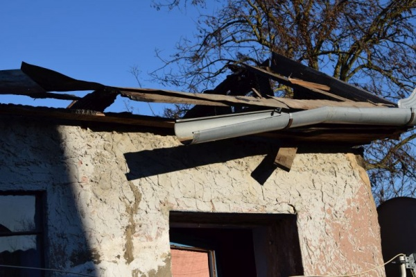 Lista necesarului de material lemnos pentru casa distrusă de incendiul din Carei