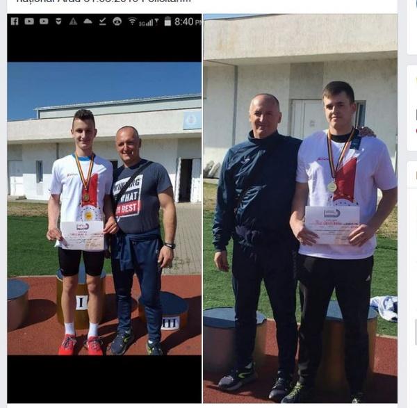 Doi atleți careieni au devenit CAMPIONI NAȚIONALI!