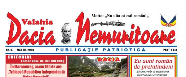 Dacia Nemuritoare la numărul 67
