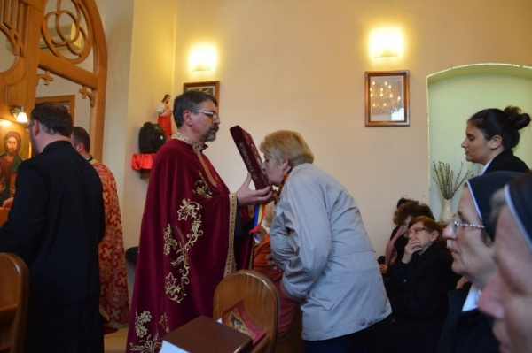 Taina Sfântului Maslu în Parohia Sf.Anton din Carei