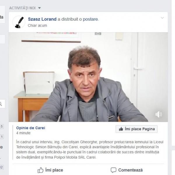 Intoxicare și sfidare la adresa celor informați! La Carei nu există învățământ profesional tip DUAL în limba română