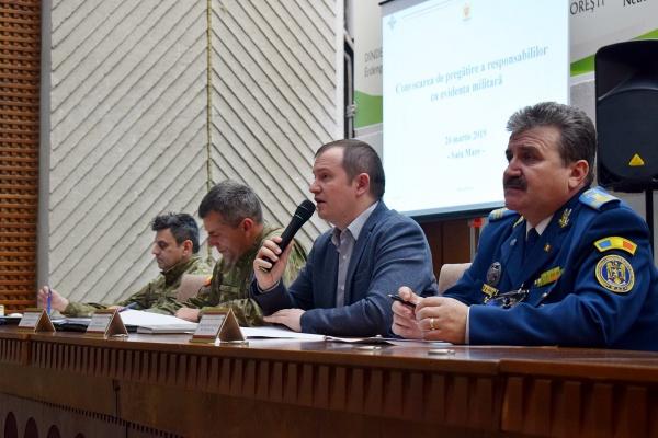 Pregătiri anunțate de Prefectura Satu-Mare  pentru simularea de război
