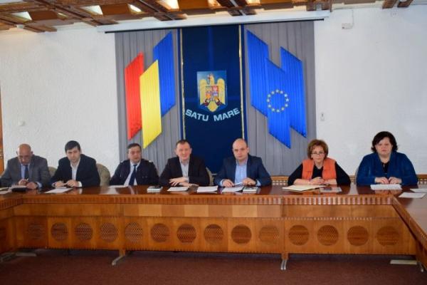 Prima ședință a Comisiei tehnice județene pentru pregătirea Alegerilor Europarlamentare