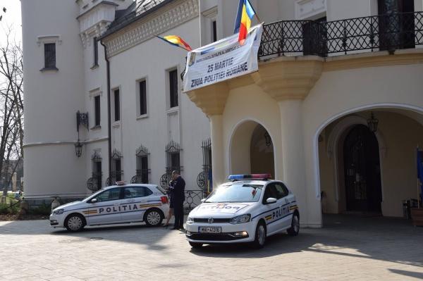 De Ziua Poliției s-au încurcat tastele în limba română de la Primăria Carei
