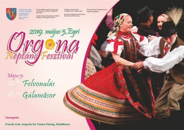Afiș doar în limba maghiară pentru o manifestare culturală sprijinită de Consiliul Județean