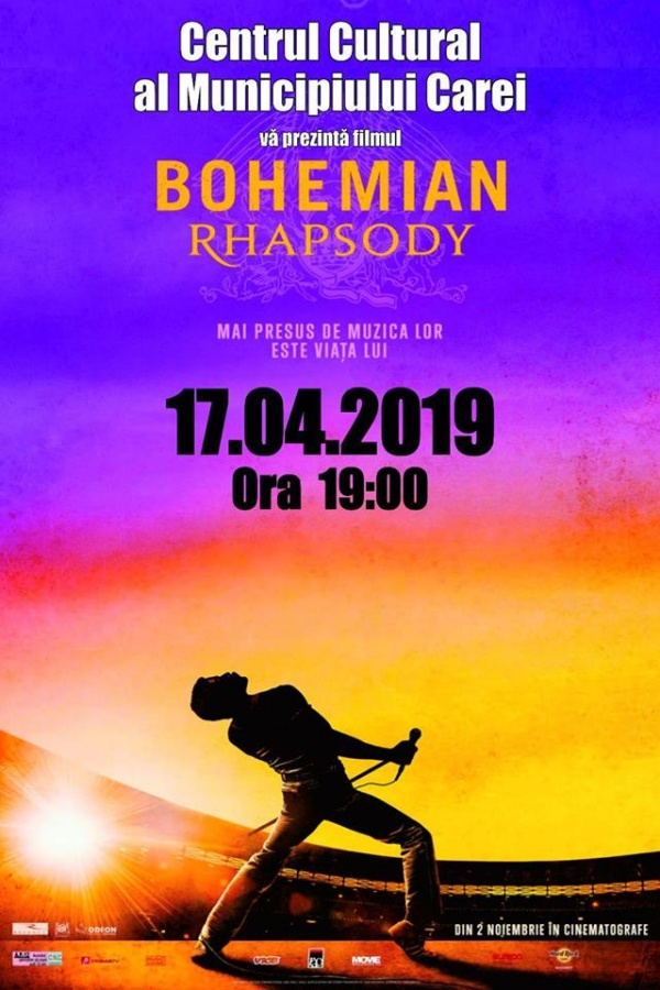 Seară de film. Bohemian Rhapsody la Carei