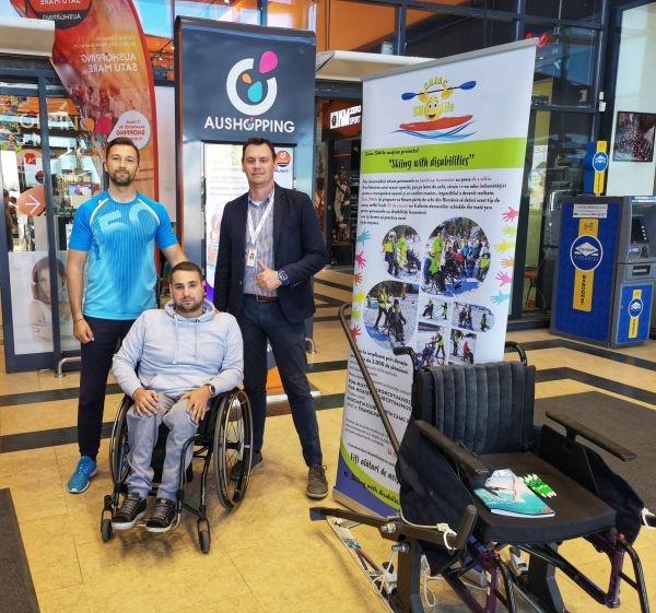 Susțineți proiectul Caiac SMile.  Schiuri speciale pentru persoanele cu dizabilități