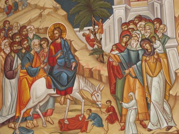 Duminica Floriilor. Intrarea Domnului Iisus Hristos în Ierusalim