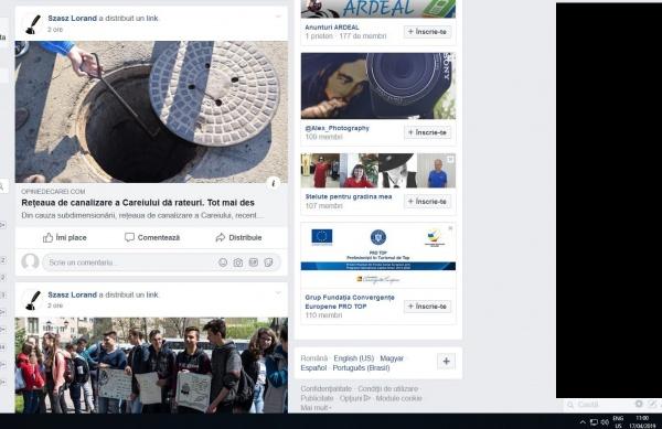 Liber la criticat APASERV Satu Mare  în timpul orelor de program de la Primăria Carei