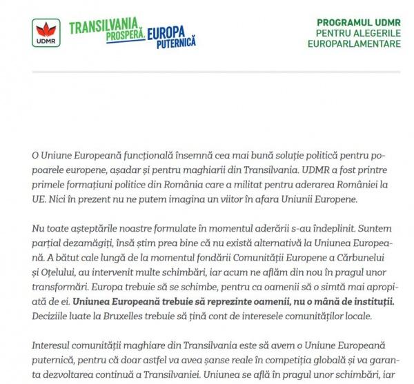 Declarații ,,contradictorii,, la Satu Mare, la 36 de km de Carei. Și pentru români este importantă moștenirea culturală