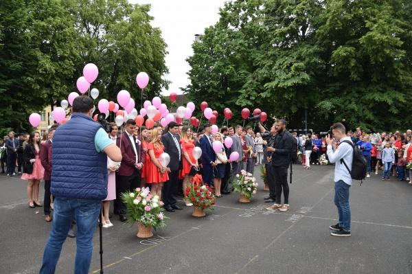 Festivitate de absolvire la Liceul Tehnologic Iuliu Maniu Carei
