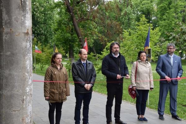 Aleea Arhitecților din Carei a fost inaugurată în Parcul Dendrologic